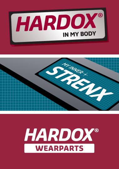 Programa de marcas de SSAB Hardox in My Body y My Inner Strenx
