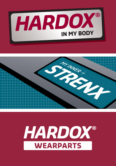 Programa de marca Hardox In My Body e My Inner Strenx da SSAB