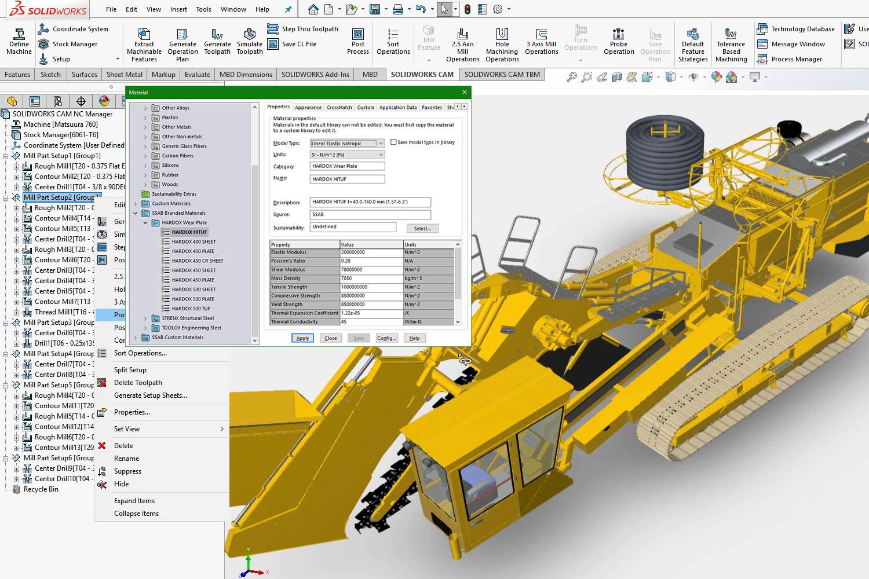 SolidWorks-anvisningar