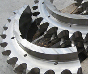 Toolox in recycling machine components