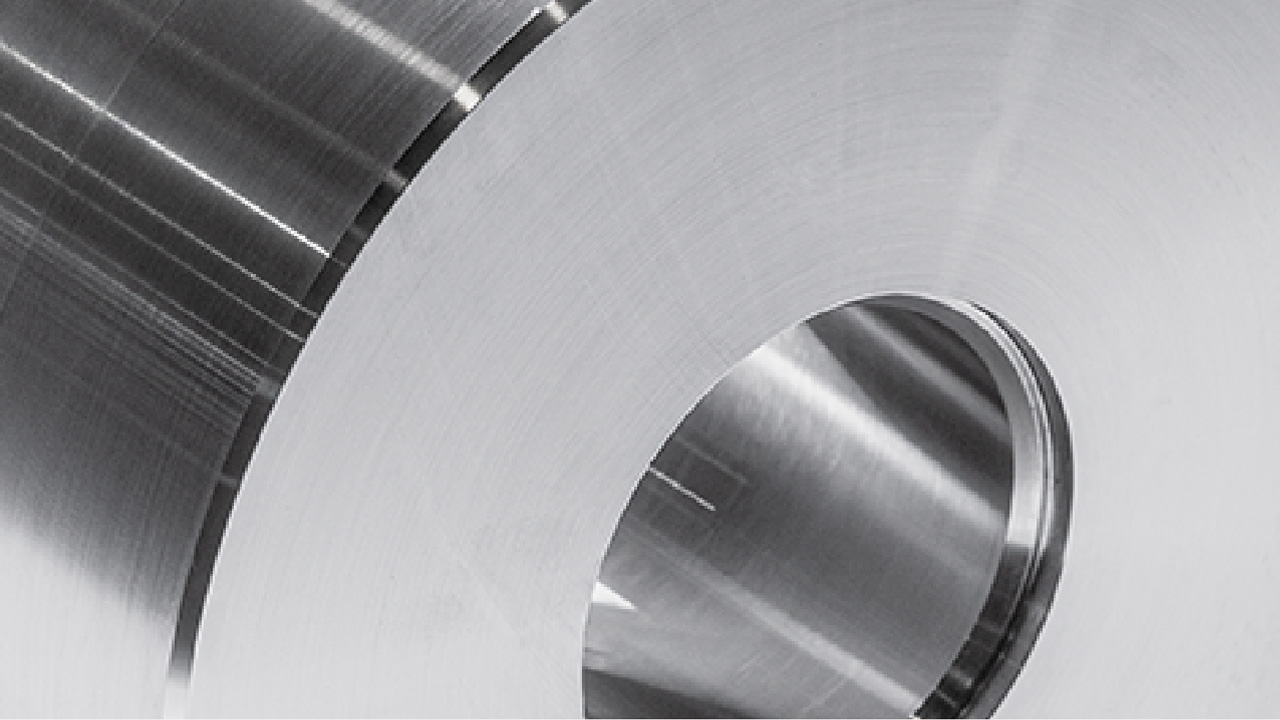 A machined steel part in Toolox