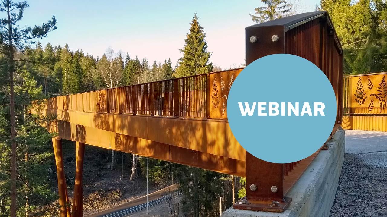 seminario web sobre puentes de acero resistente a las condiciones atmosféricas