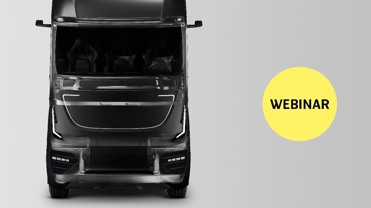 """Webinarium """"Jak producenci OEM samochodów ciężarowych mogą wykorzystywać w swoich projektach zaawansowaną stal o wysokiej wytrzymałości"""""""