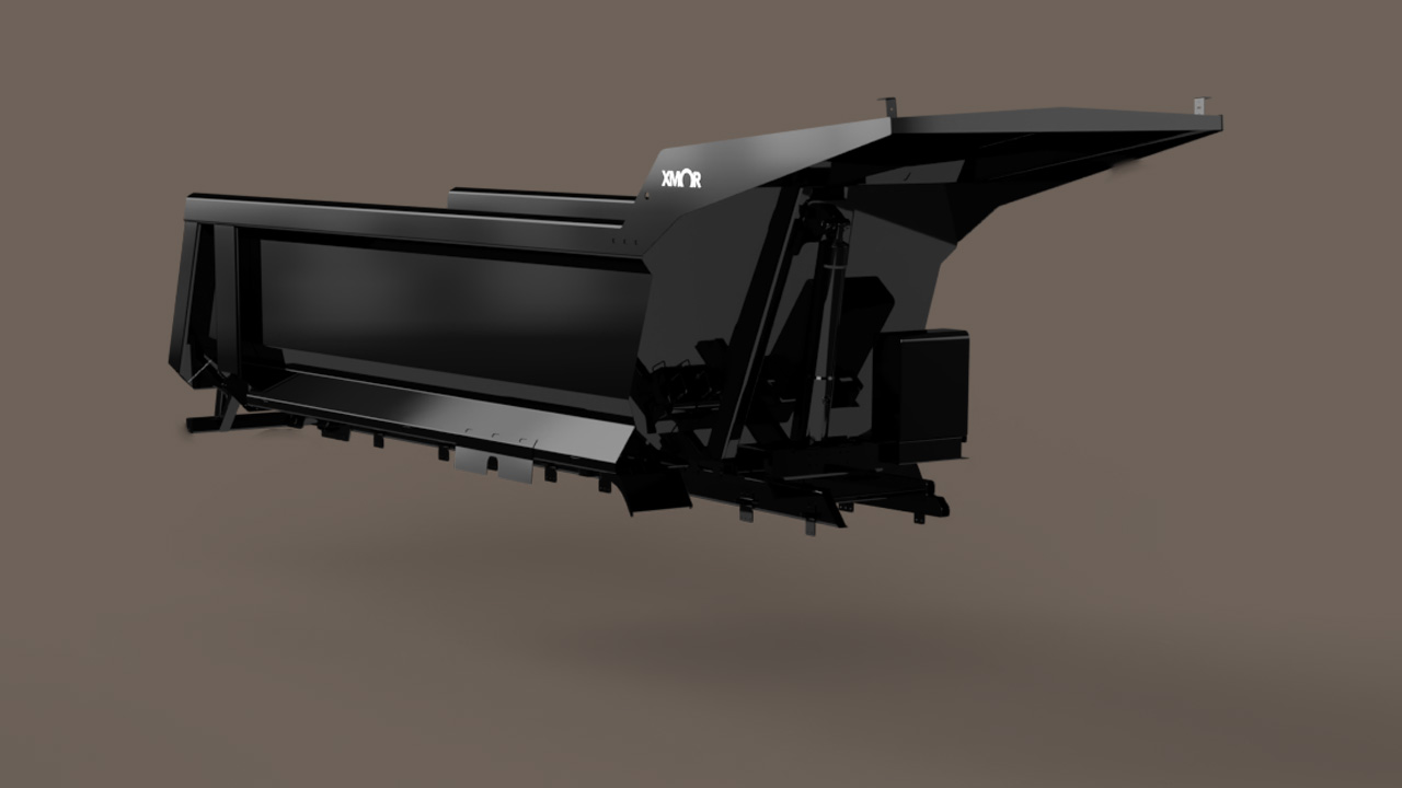 Mining tipper from Xmor